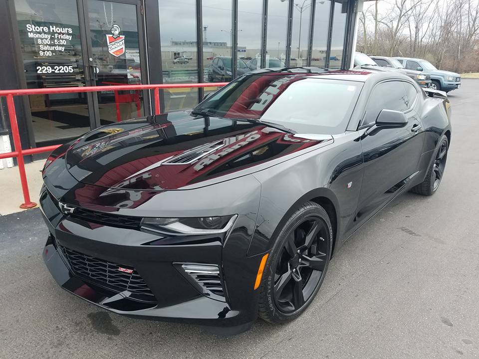 Window Tint Camaro