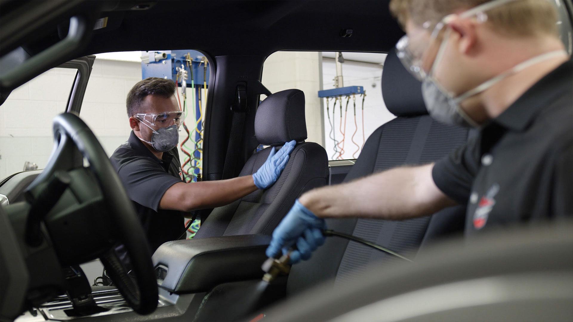 Interior Auto Detailing  Auto Care Services  Ziebart